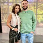 Симона Пейчева с Avin бутиково дизайнерско дантелено боди