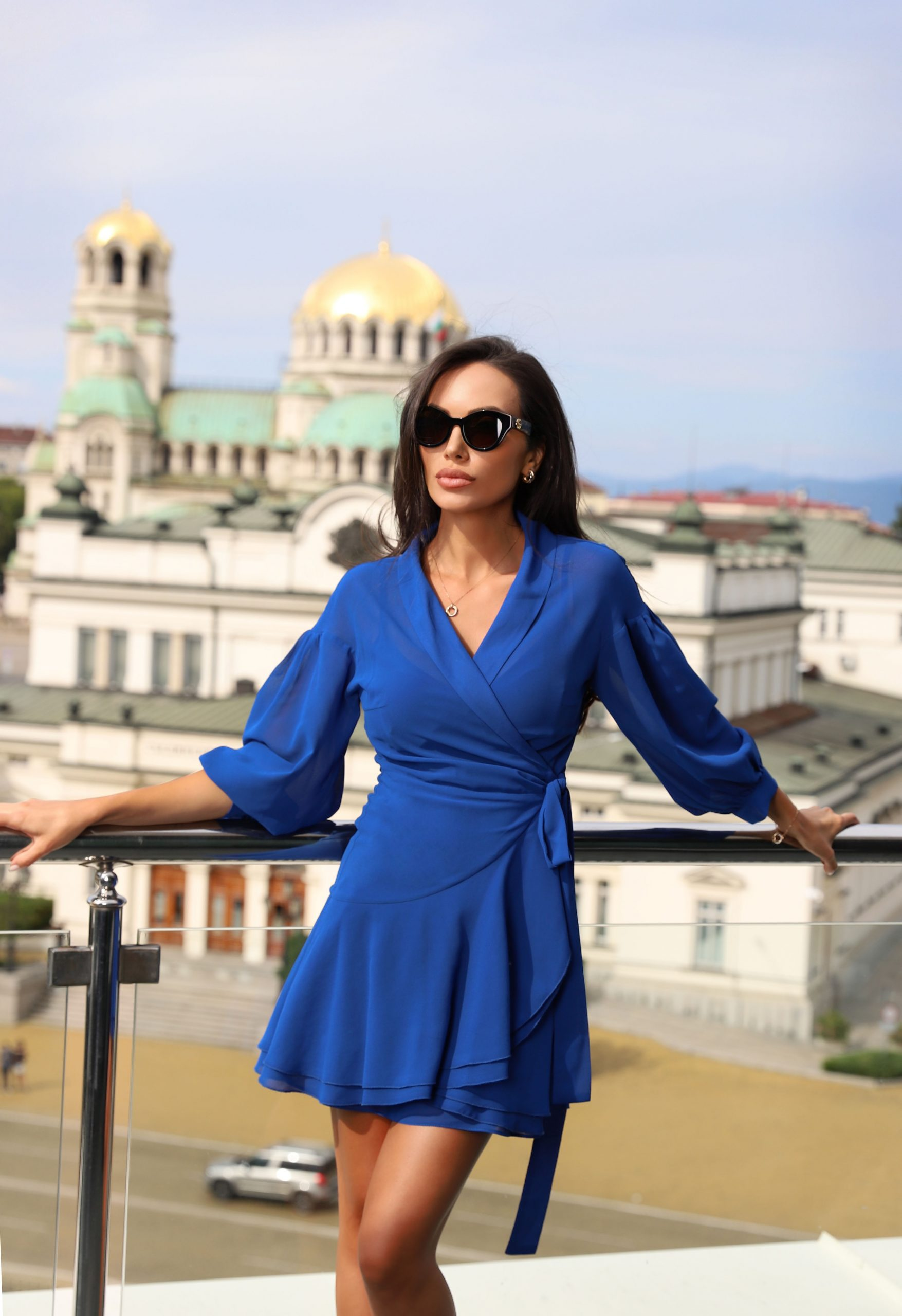 рокля cobalt blue