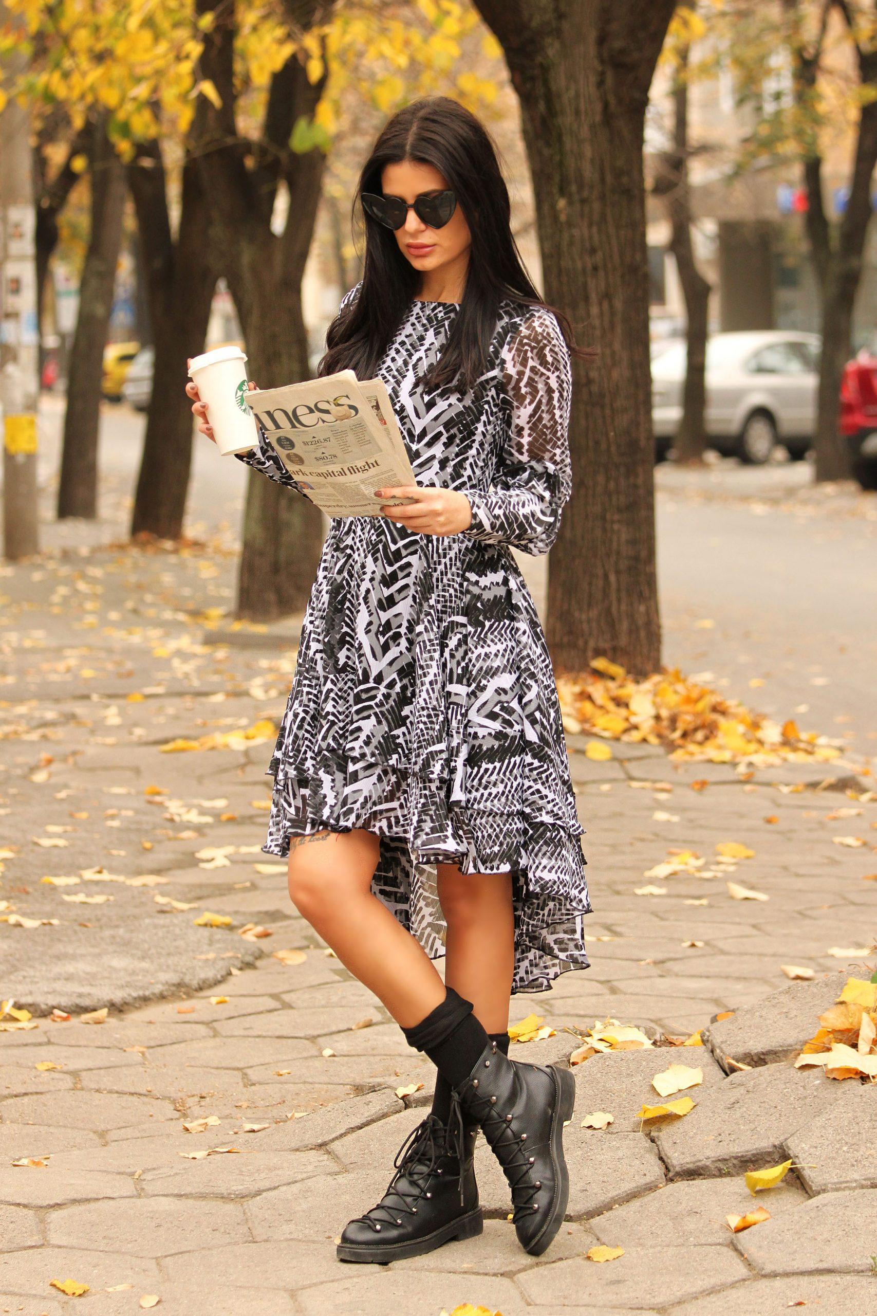 ежедневна есенна рокля avin