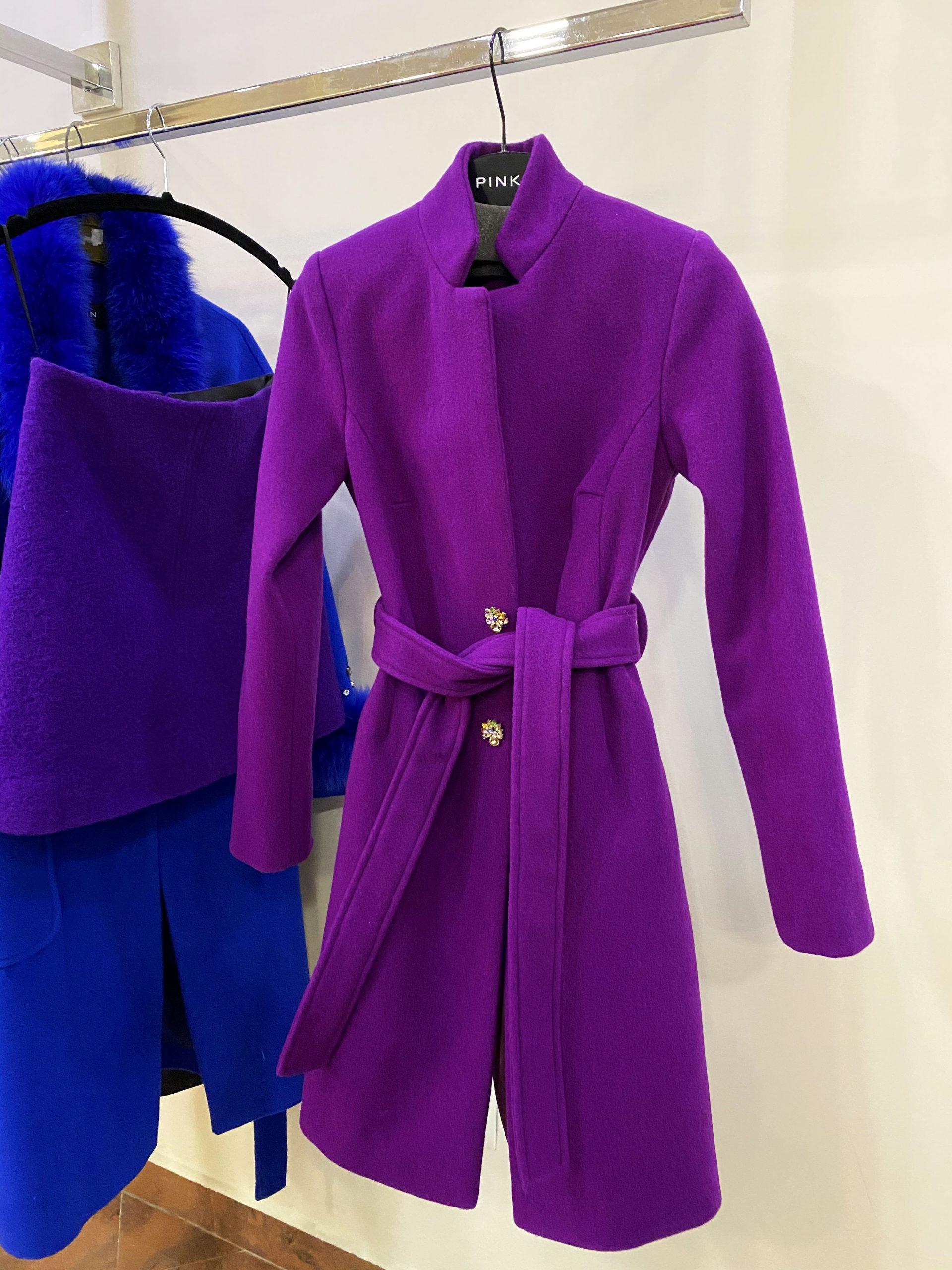 палто Violet лилаво палто avin