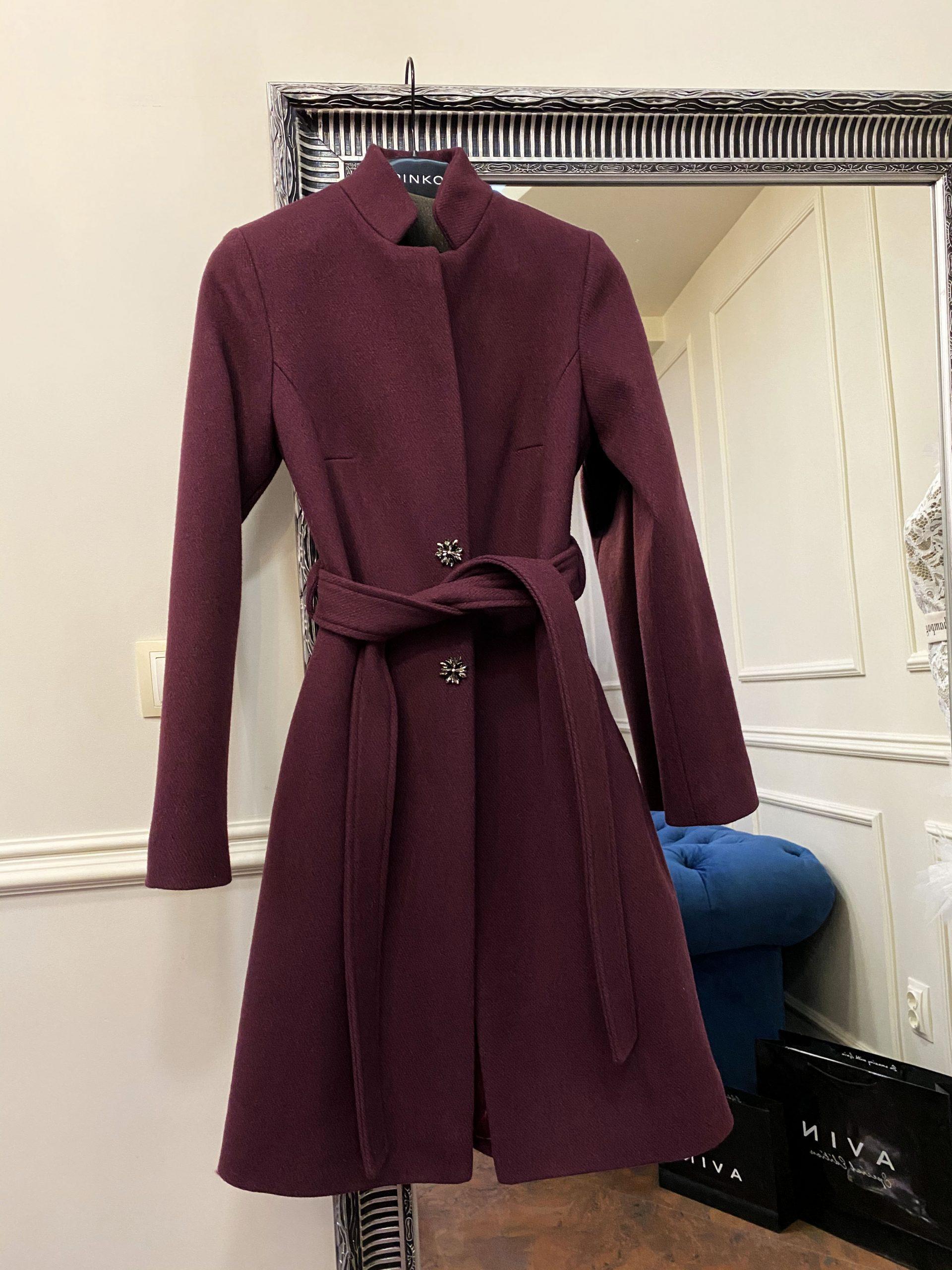 палто от вълна avin