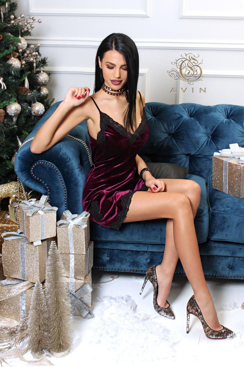 рокля плюш avin