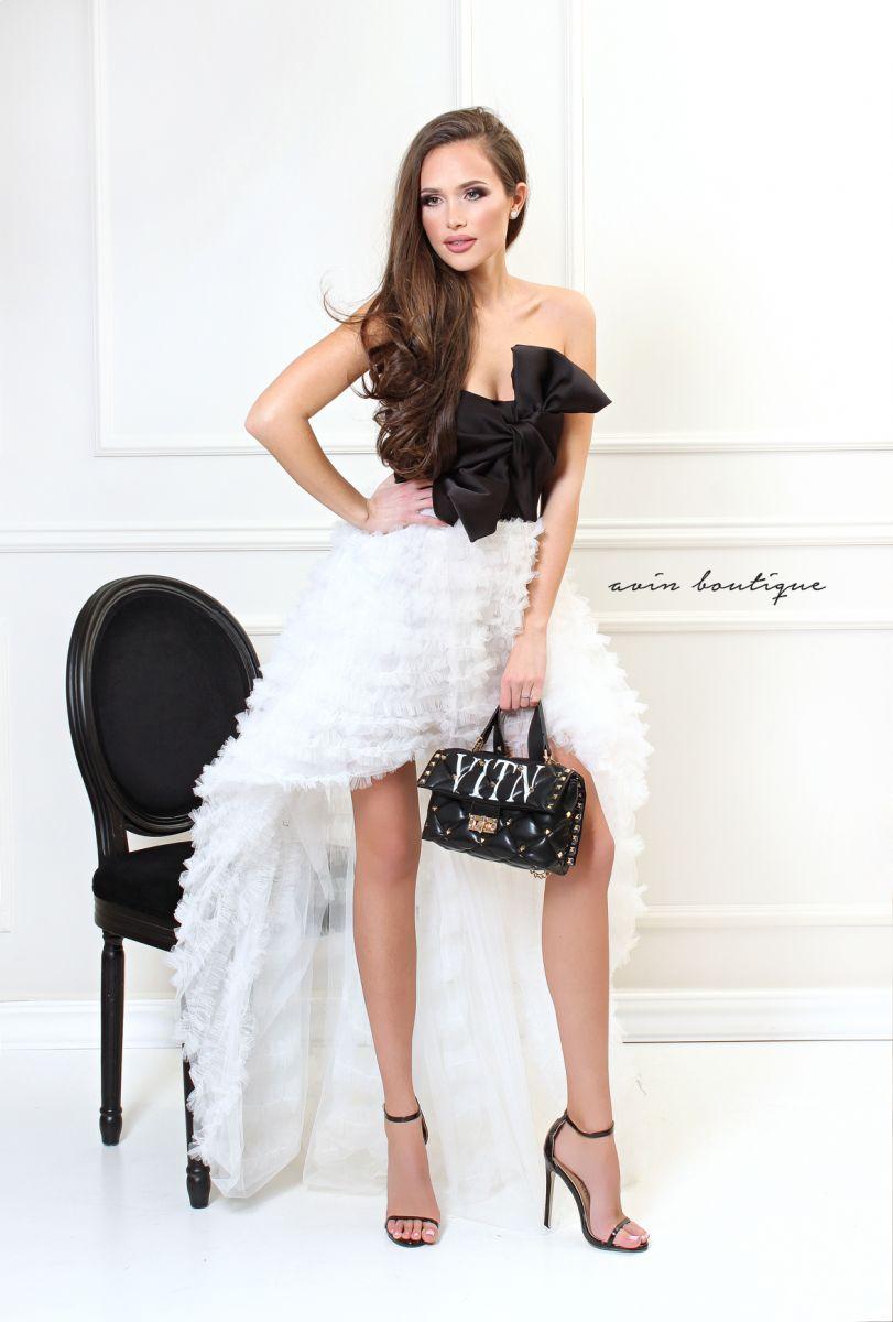 коктейлна рокля avin