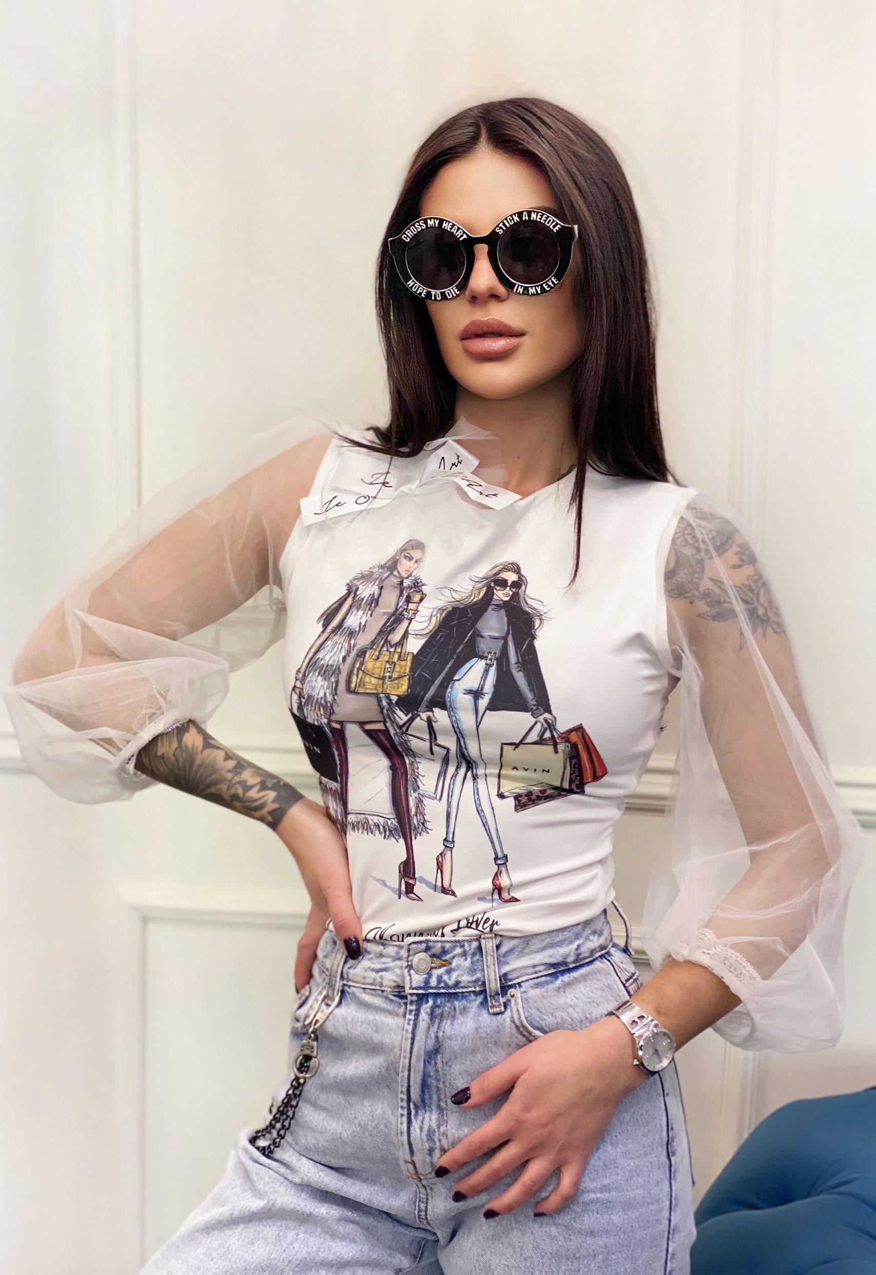 T-shirt Аvin Shopping Girls